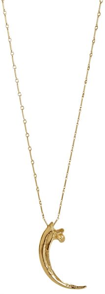 Pamela Love  Large Eagle Claw Pendant Necklace - Lyst