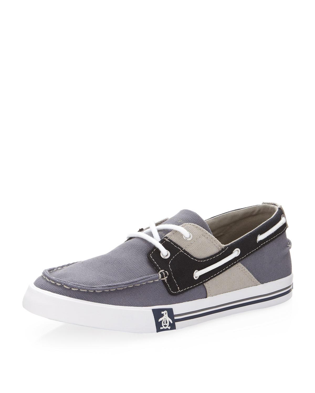 Original Penguin Men S Fly Ocean Boat Shoe