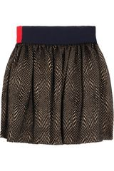Roksanda Ilincic Fishbone Tweed Skirt - Lyst