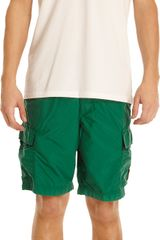 Stone Island Cargo Swim Trunks - Lyst
