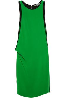 Reed Krakoff Draped Stretch Silkblend Crepe Dress - Lyst