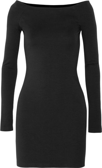 The Row Hunting Stretch-jersey Dress - Lyst