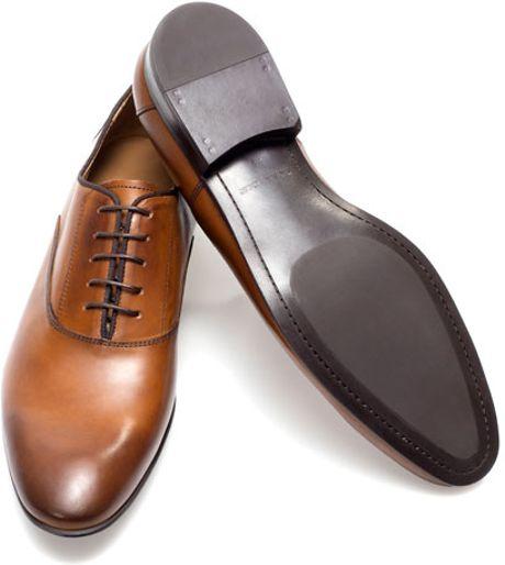 Elegant Zara Oxford Style Casual Shoes In Black For Men  Lyst