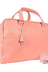 Buti Pink Soft Calf Leather Medium Travel Bag - Lyst