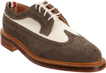 Thom Browne Wingtip Brogue - Lyst