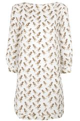 Mauro Grifoni Frog Print Shift Dress - Lyst