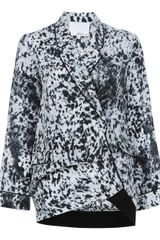 3.1 Phillip Lim Draped Jacket - Lyst