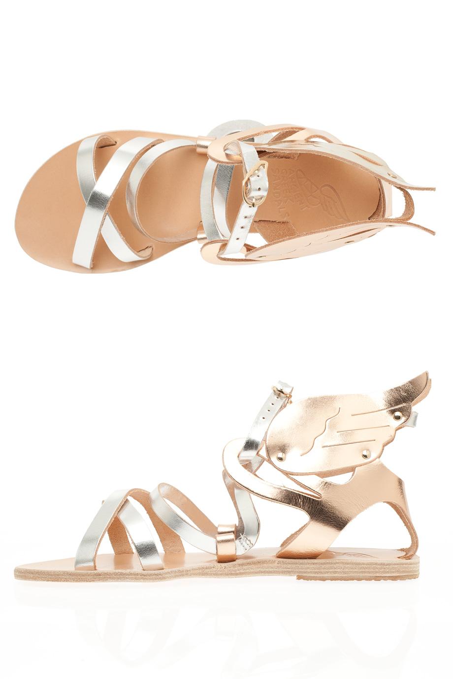 Ancient Greek Sandals Multi Strap New Winged Sandals Lyst