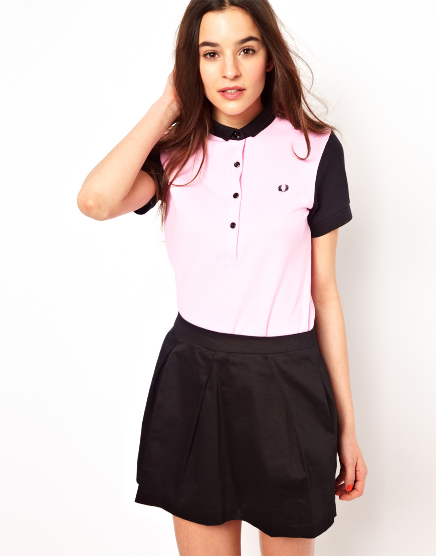 9c59563f Fred Perry Fred Perry For The Amy Winehouse Foundation Colour Block ...