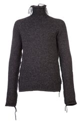 Poeme Bohemien Turtleneck Sweater - Lyst