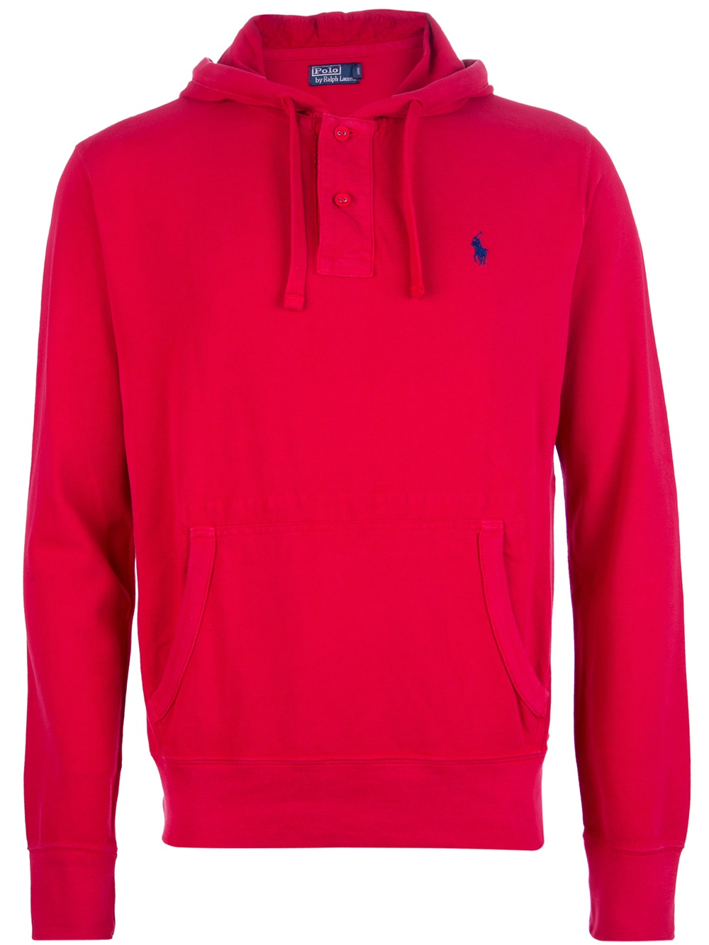 polo ralph lauren drawstring hoodie in red for men lyst. Black Bedroom Furniture Sets. Home Design Ideas