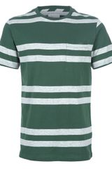 Saturdays Surf Nyc Striped Tshirt - Lyst
