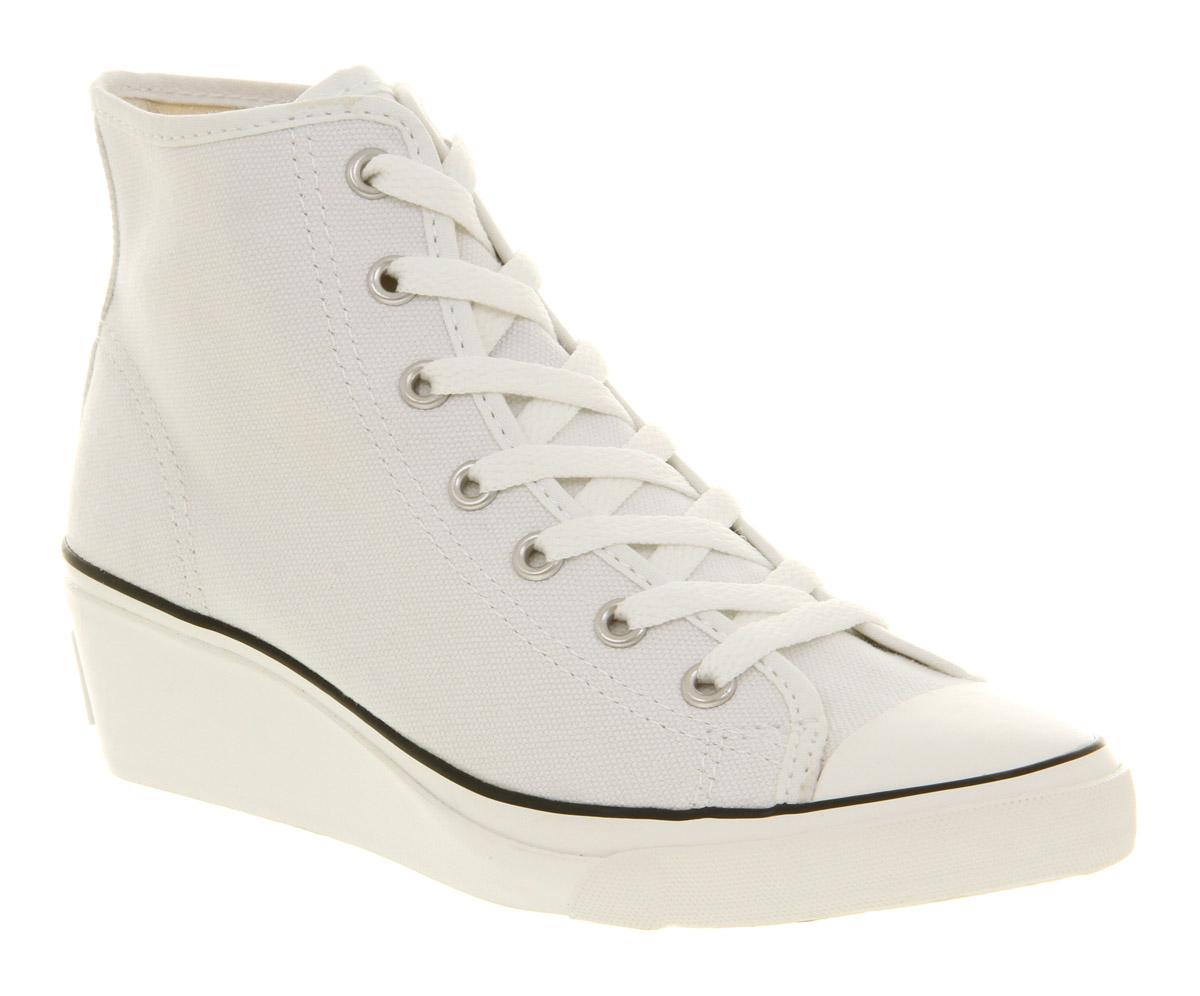 eb5c5f283a4e Converse All Star Hi-ness in White - Lyst