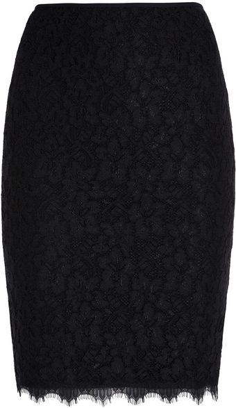 Diane Von Furstenberg Scotia Pencil Skirt - Lyst