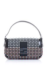 Fendi Super Bowl Beaded Baguette - Lyst