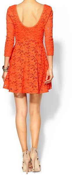 Orange Dress Forever 21
