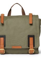 Marc By Marc Jacobs Hugo Leathertrimmed Canvas Messenger Bag - Lyst