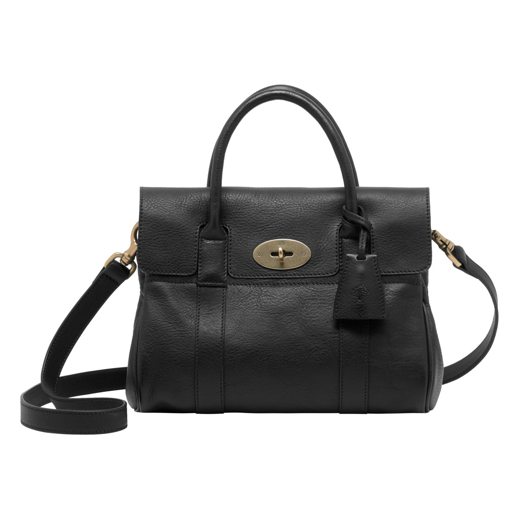 0e809698a5 ... czech mulberry bayswater small leather satchel in black lyst 02b1a 3e859