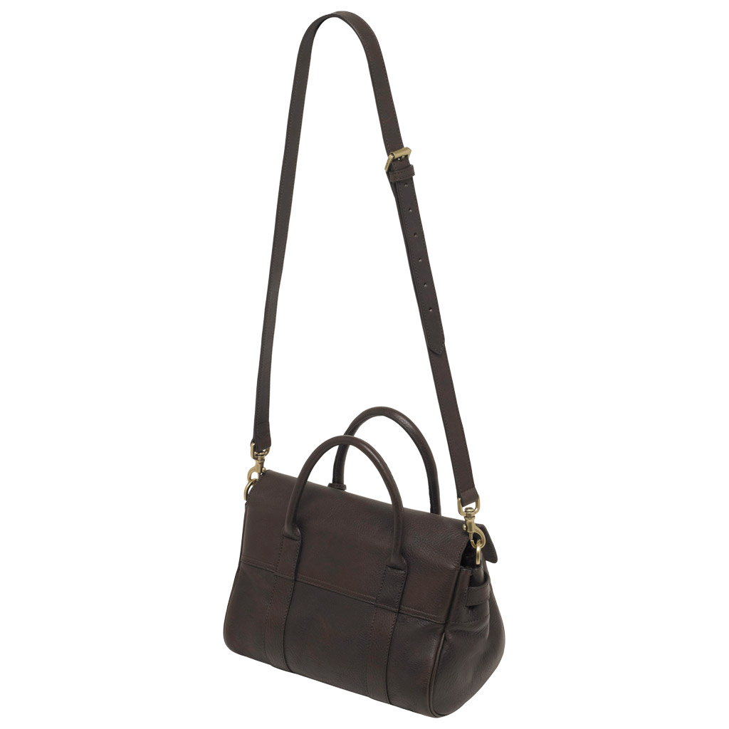 a07809012c2e Lyst - Mulberry Small Bayswater Satchel in Black