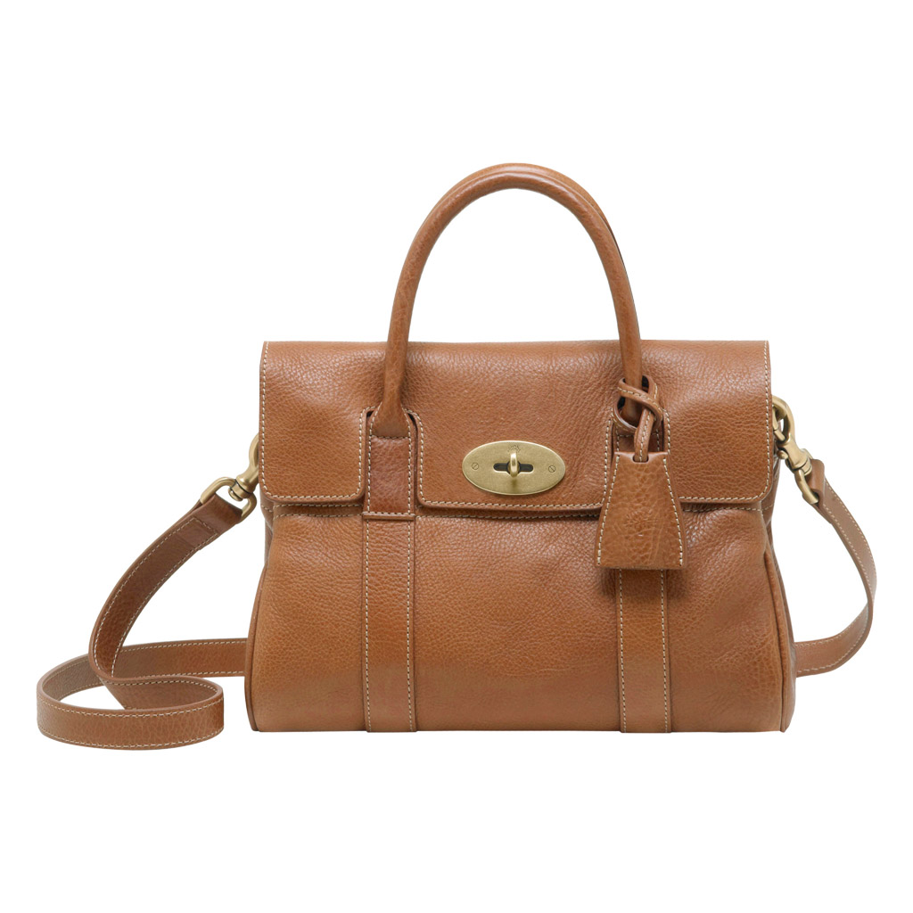 e11f4f650aae Lyst - Mulberry Small Bayswater Satchel in Brown