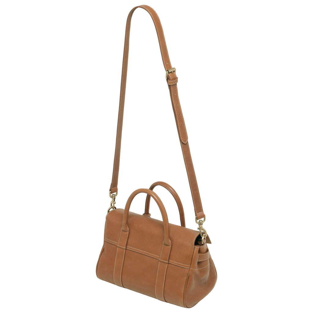 5193e6d26960 Lyst - Mulberry Small Bayswater Satchel in Brown