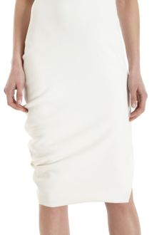 Narciso Rodriguez Cut Out Front Sleeveless Dress - Lyst