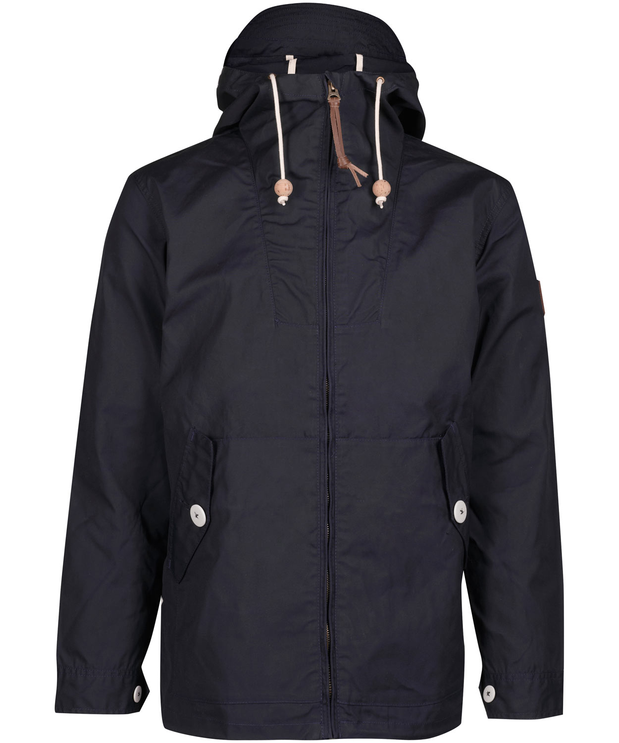 Penfield Navy Gibson Waxed Jacket in Blue for Men | Lyst