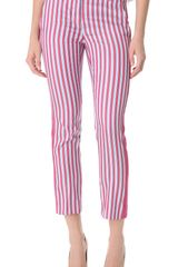 Philosophy di Alberta Ferretti Striped Pants - Lyst