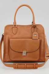 Tory Burch Priscilla Pocket Tote Bag - Lyst