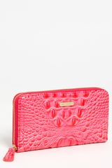 Brahmin Suri Zip Around Wallet - Lyst