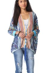 Clover Canyon Surf Tapestry Top - Lyst