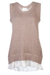 Clu Sleeveless Vest - Lyst