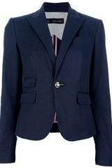 DSquared2 Single Button Blazer - Lyst