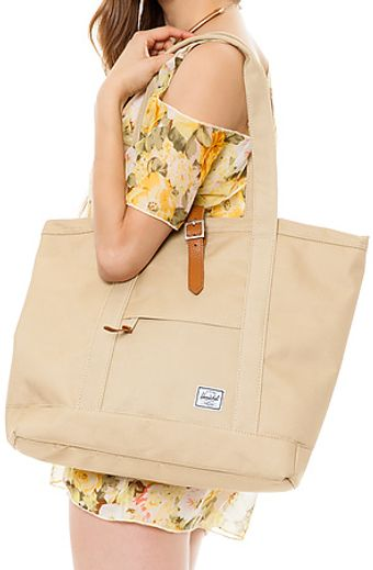 Herschel Supply Co. The Market Xl Tote in Khaki - Lyst