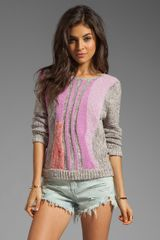 Marc By Marc Jacobs Flo Sweater in Cherry Blossom Multi - Lyst