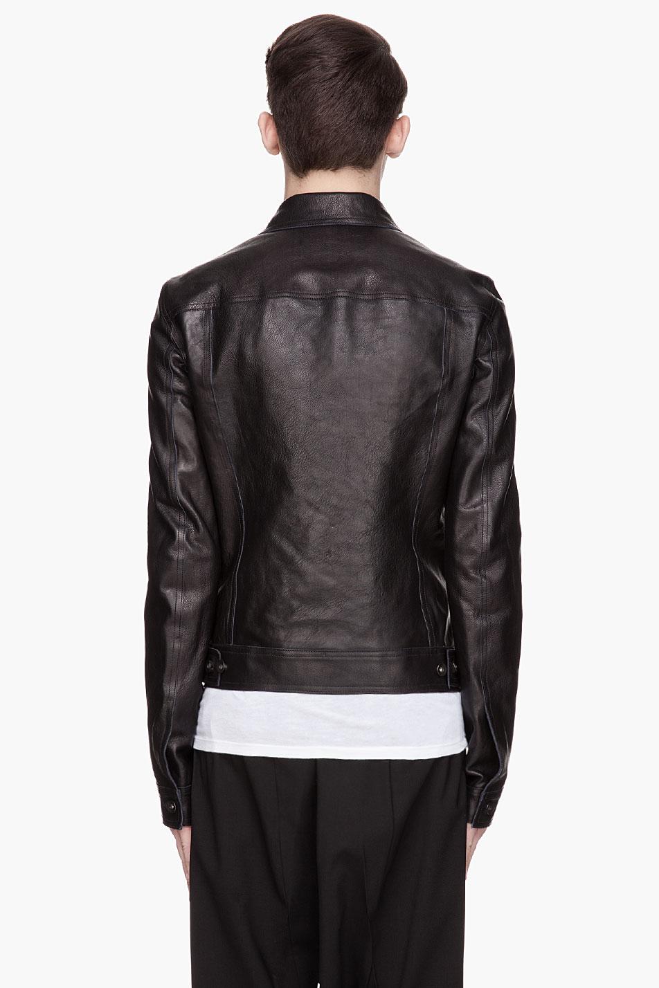 Heavy leather jackets