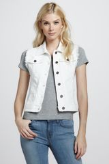 Sinclair Andi Denim Vest - Lyst