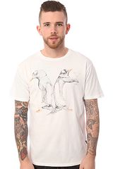 Wesc The Penguin Icon Tee in White - Lyst