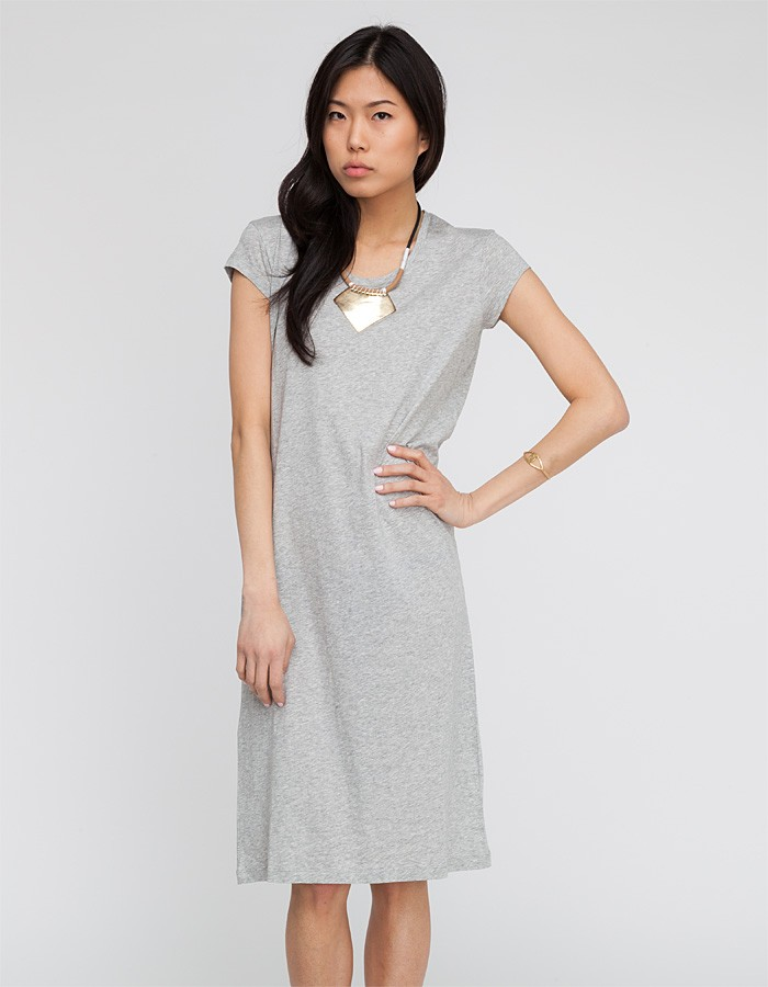 a p c robe t shirt in gray lyst. Black Bedroom Furniture Sets. Home Design Ideas