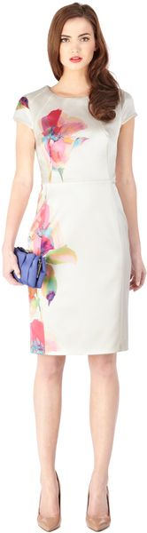 Coast Satin Dress - Lyst