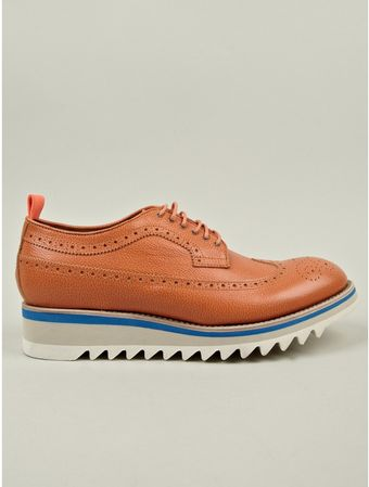 DSquared2 Mens Shark Lace Up Shoes - Lyst