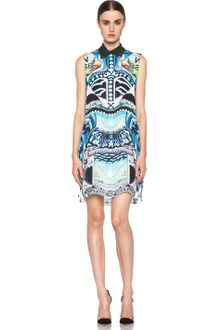 Mary Katrantzou Gloria Blouse Dress in Starsailor - Lyst