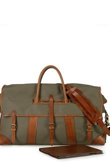 Polo Ralph Lauren Canvas Weekend Duffle - Lyst