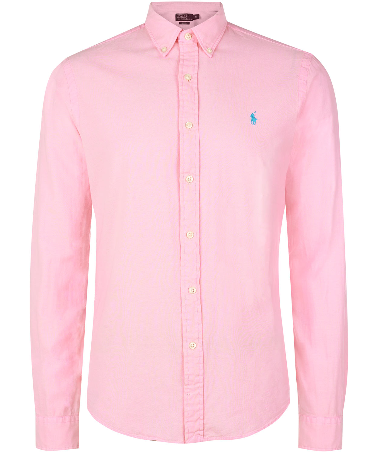 Polo ralph lauren Pink Button Down Oxford Shirt in Pink for Men | Lyst