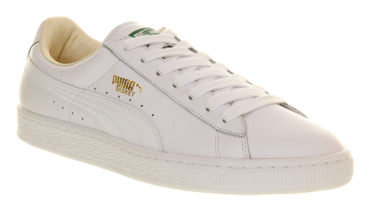 3e89d6e5 Puma Basket Leather White ukrainesolidarity.co.uk