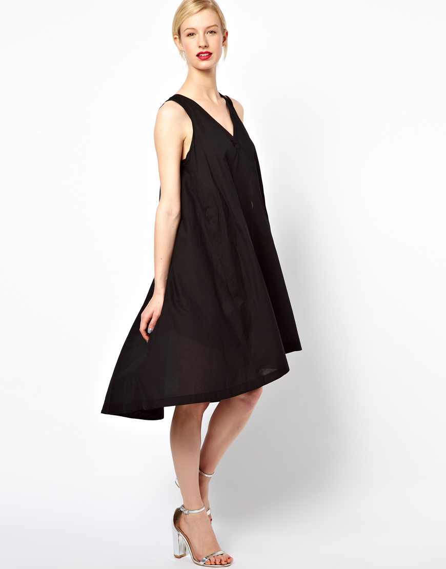 Lyst See By Chlo 233 High Low Dress With Thread Through