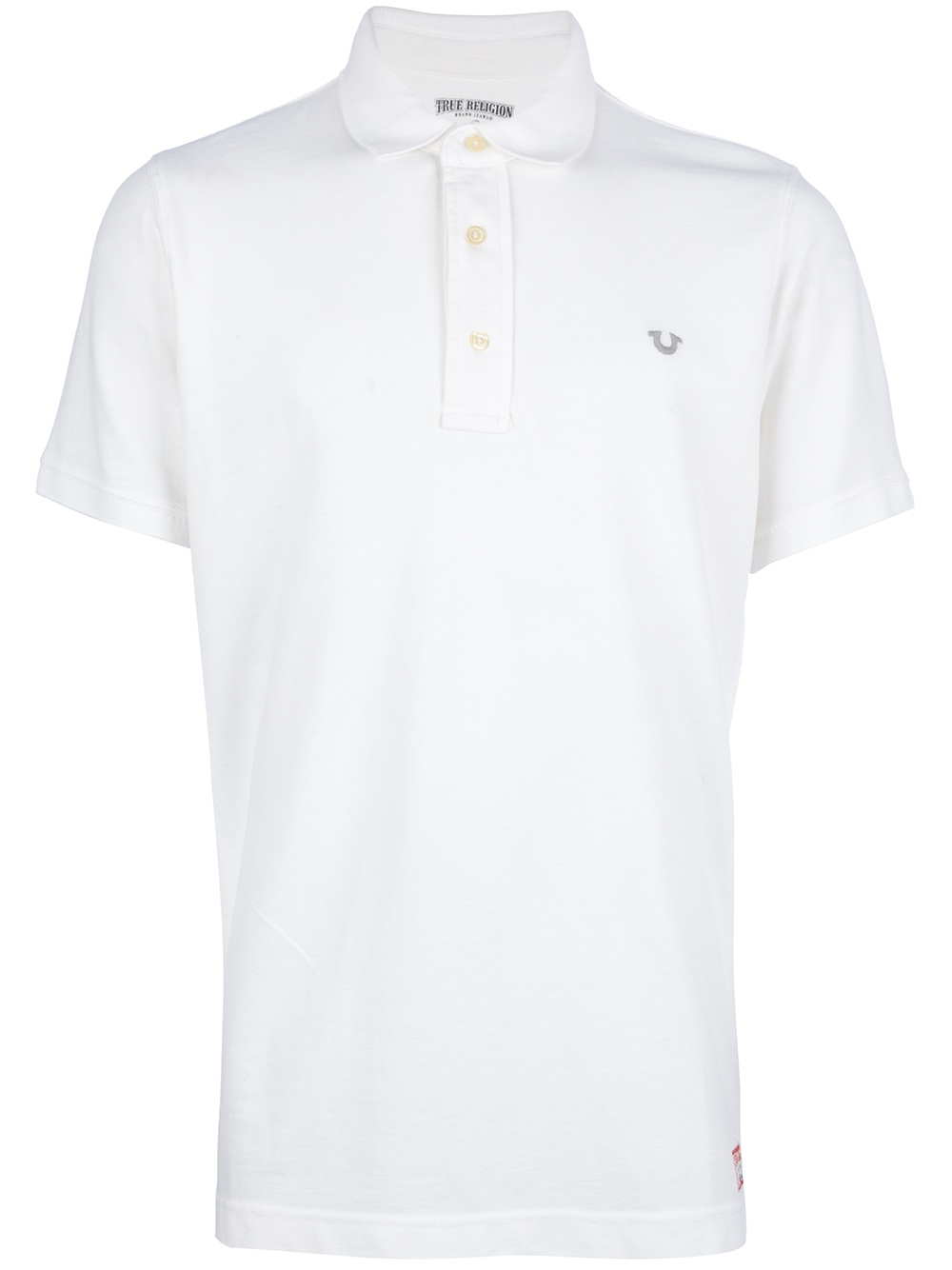 b6766d547 True Religion Classic Polo Shirt in White for Men - Lyst