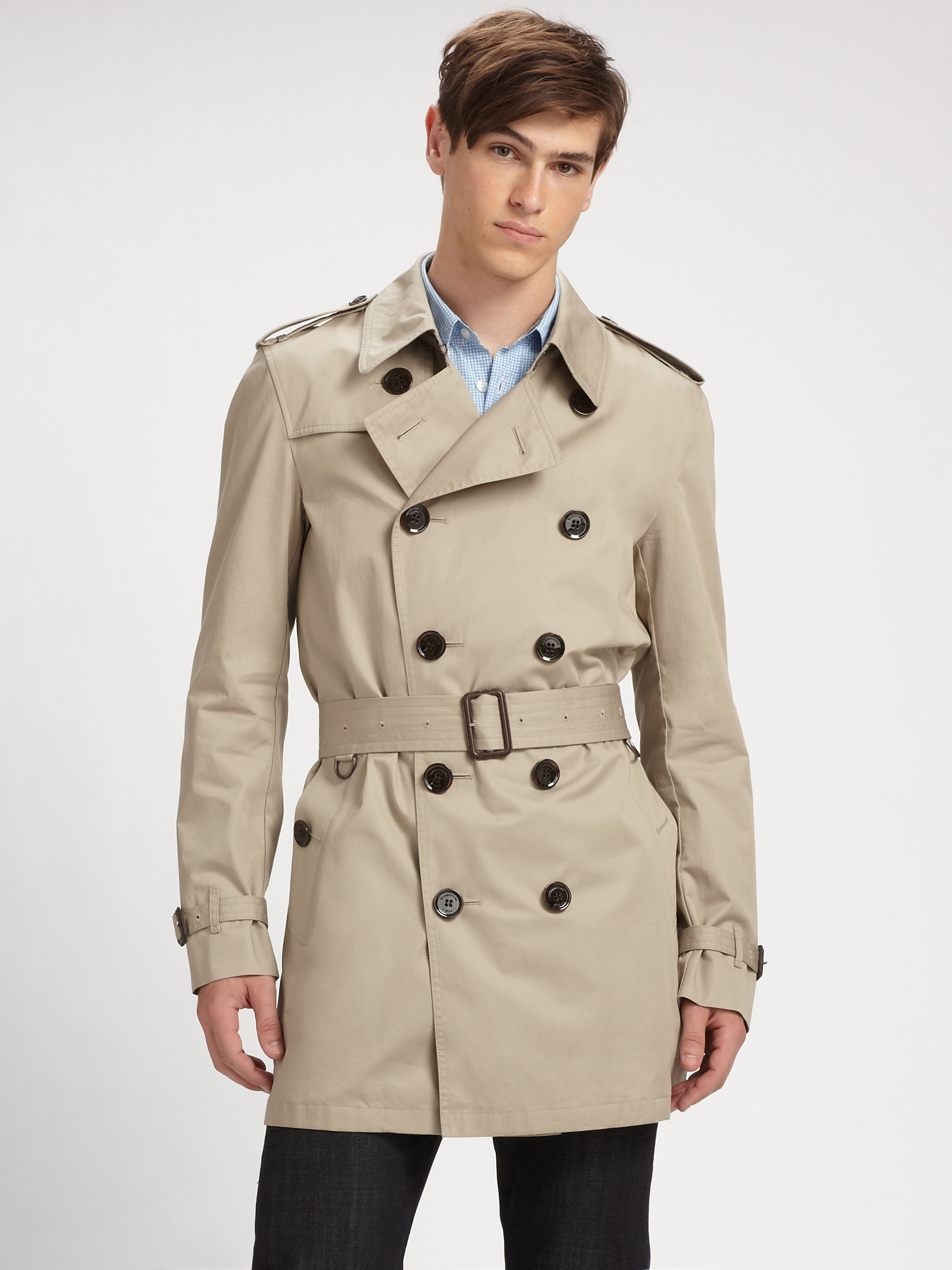 Cufflinks and Trench Coats