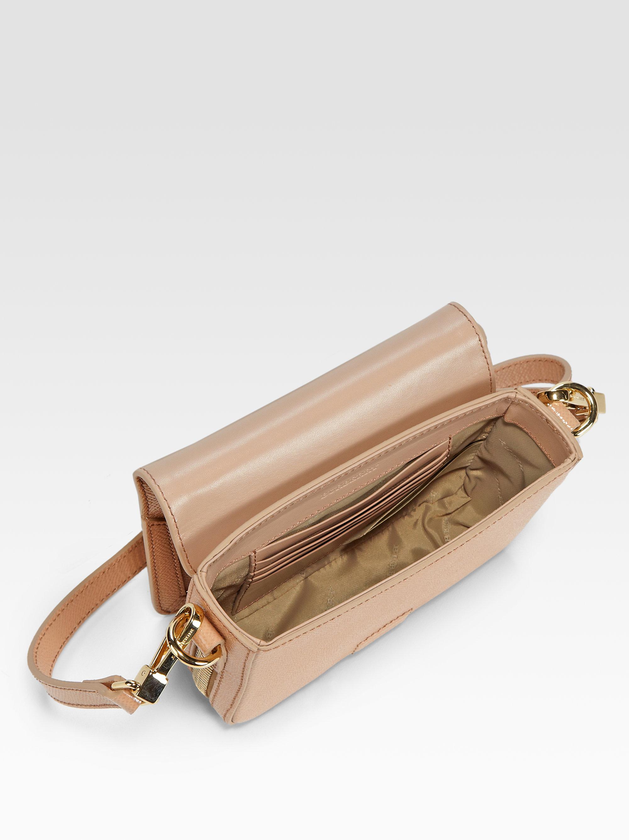 5827707a441b Burberry Berkeley Mini Crossbody Bag in Pink - Lyst
