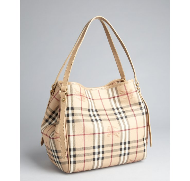 Lyst - Burberry Trench and Haymarket Check Coated Canvas Canterbury ... e0d4527ab4788